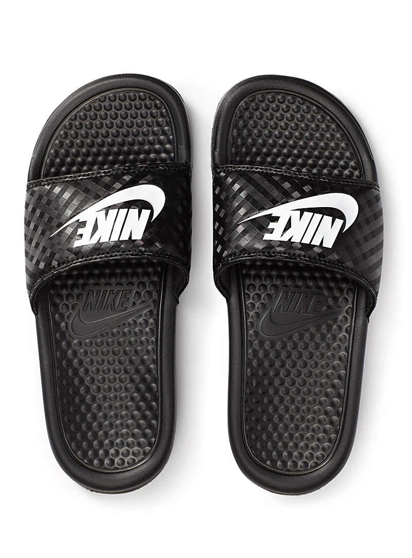 Nike Black Benassi slides  Women for women