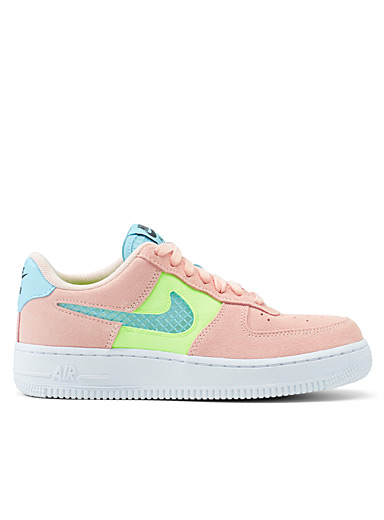 Nike Peach Air Force 1 '07 SE coral sneakers  Women for women