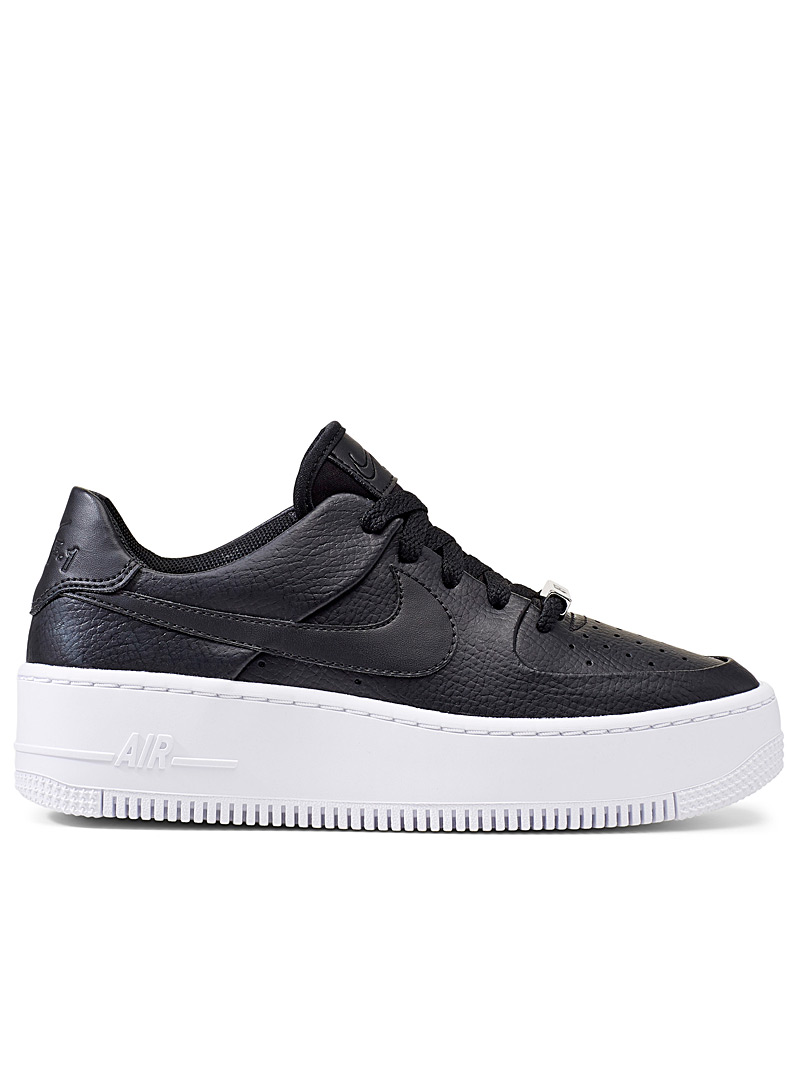 Air Force 1 Sage Low platform sneakers  Women - Sneakers - Black