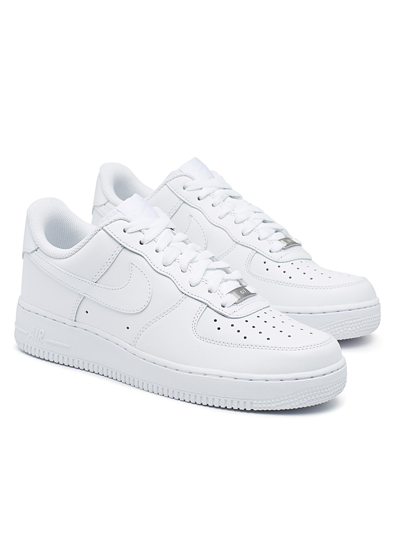 Nike: Le sneaker Air Force 1 '07 Homme Blanc pour homme