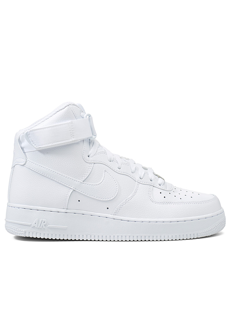 Nike: Le sneaker Air Force 1 High '07  Homme Blanc pour homme