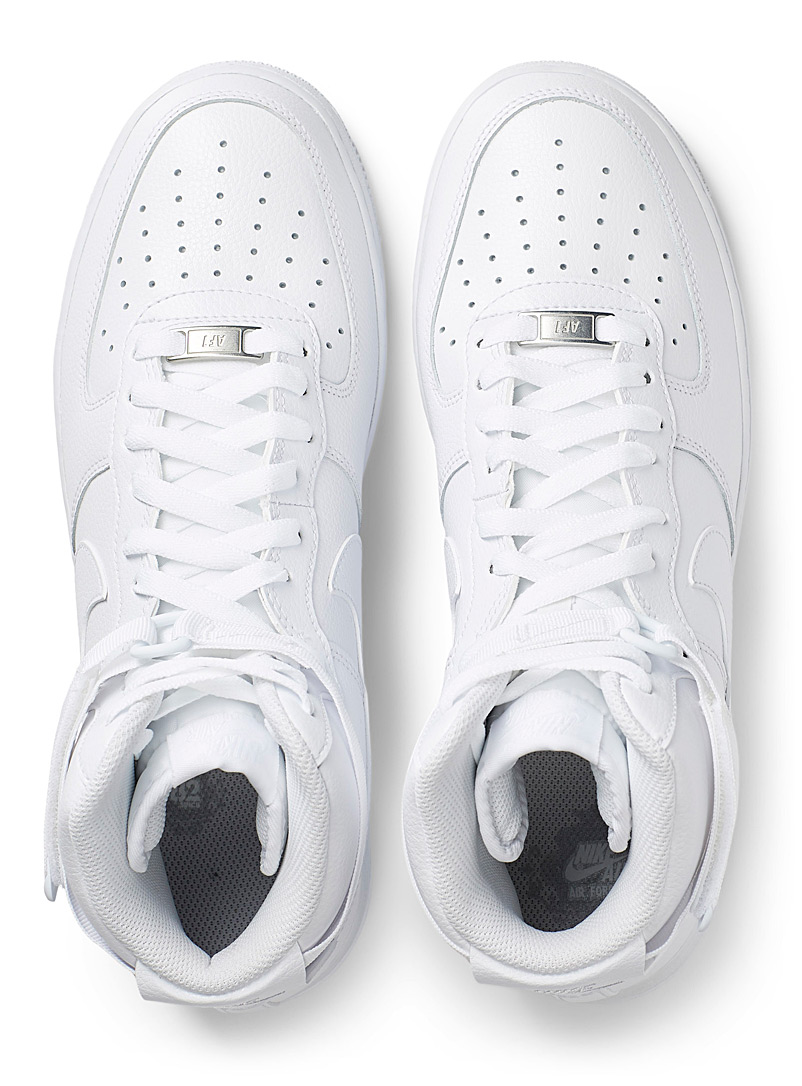 Nike White Air Force 1 High '07 sneakers  Men for men