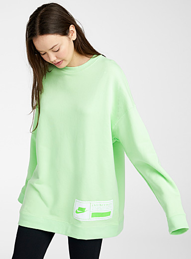 Colourful ultra loose sweatshirt