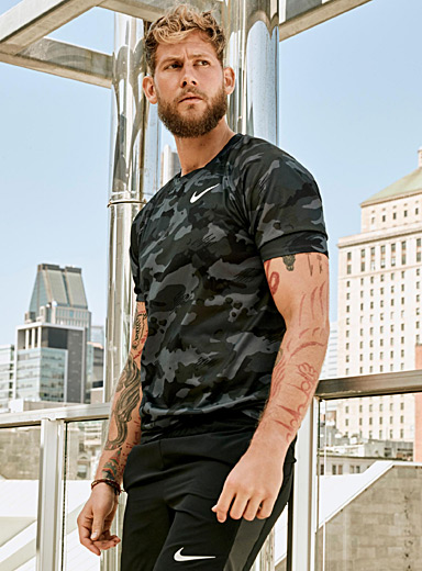 Breathable camo tee