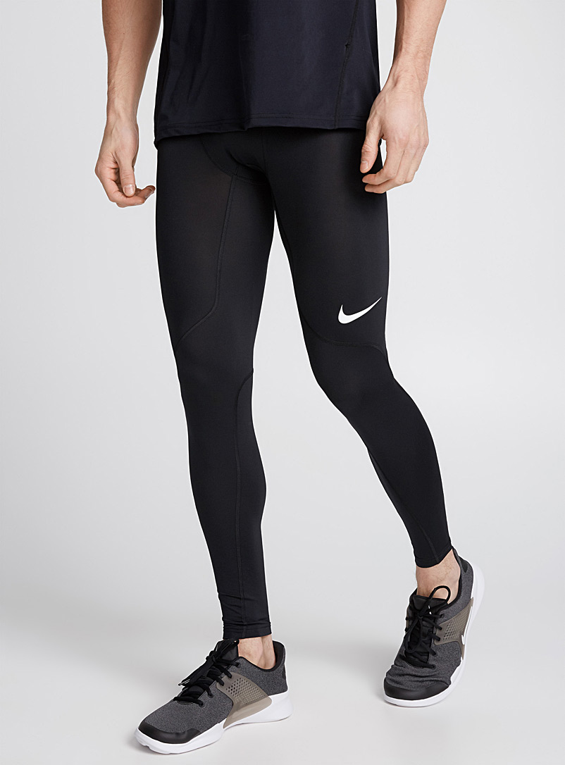 Nike Black Nike Pro training legging for men