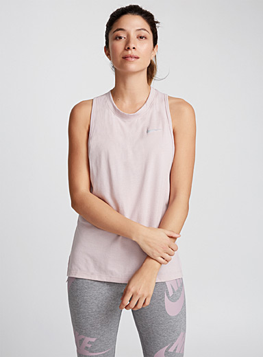 Perforated-back tank