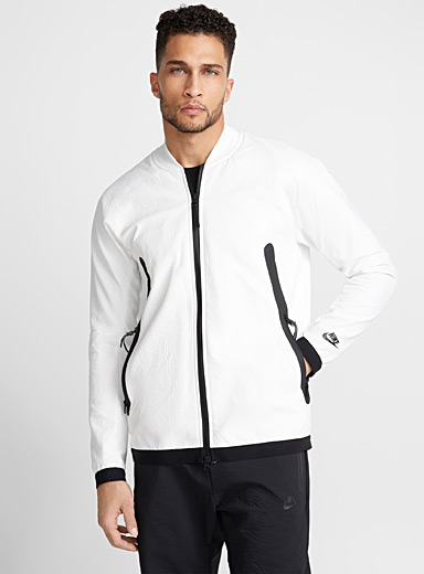 Tech Pack crackled jacket