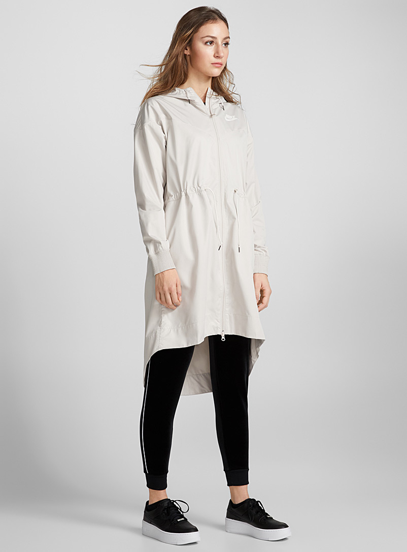 Windrunner long raincoat - Raincoats - Sand