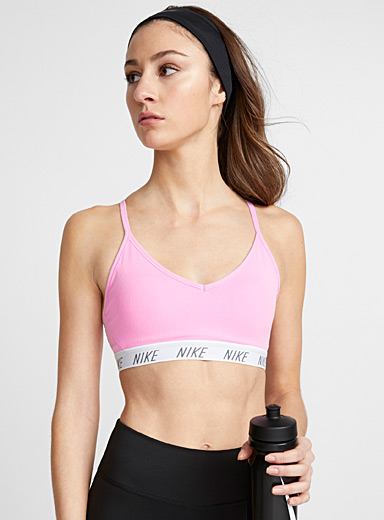 Indy logo ribbed bra