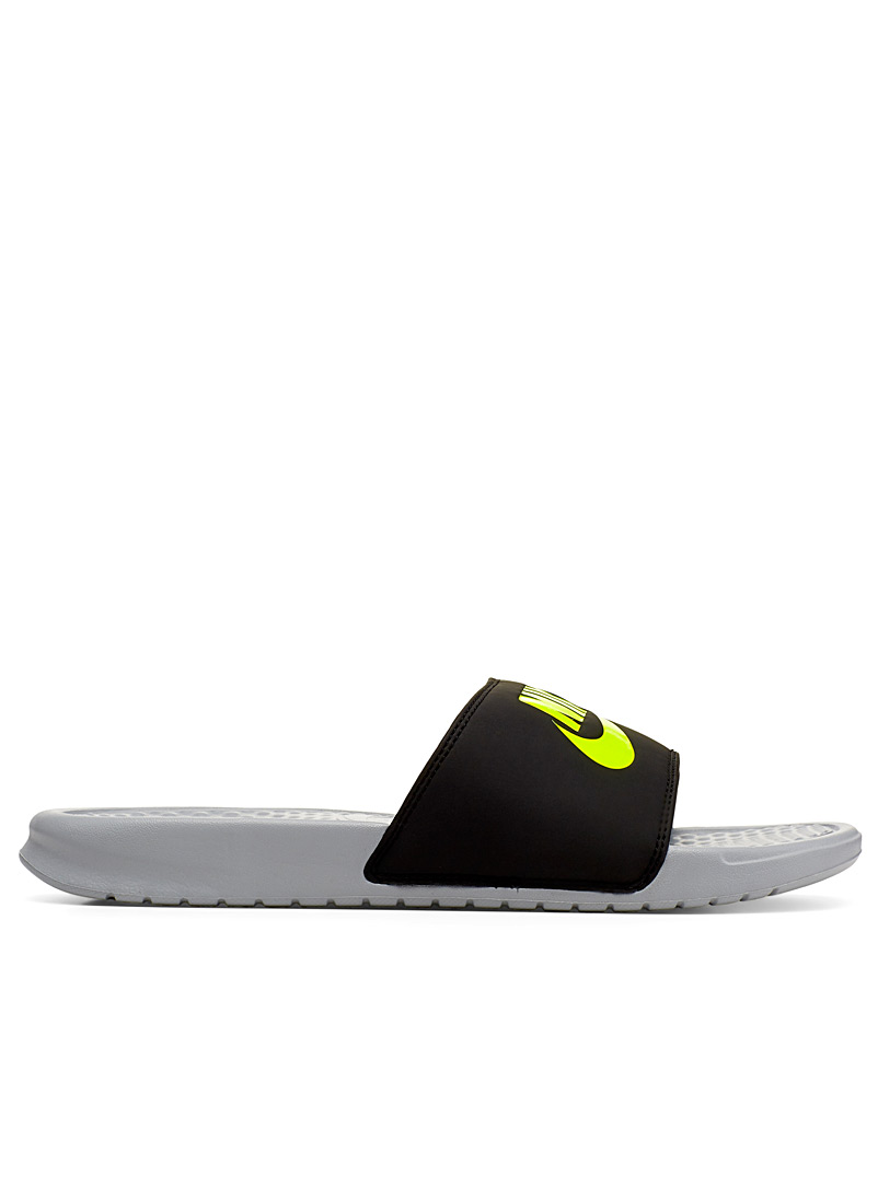 Nike Black Benassi slides  Men for men
