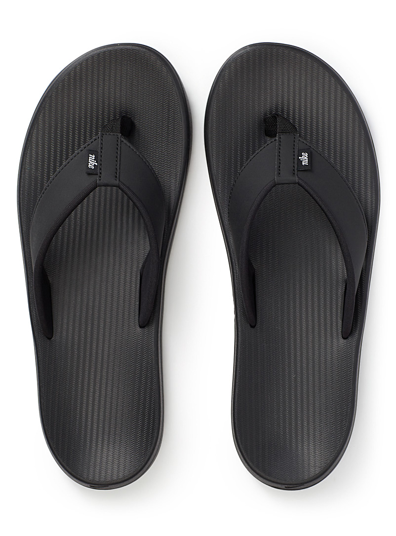 Nike Black Kepa Kai flip-flops for men