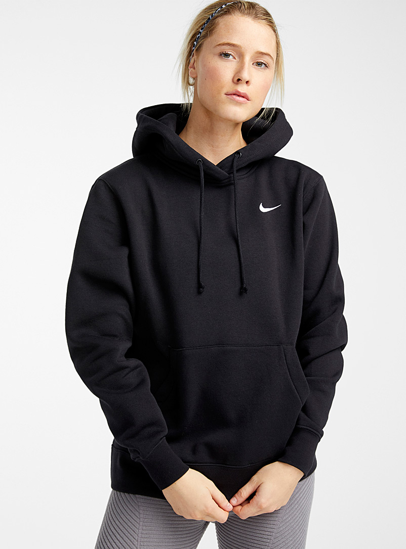 Nike Black Authentic hooded sweatshirt for women
