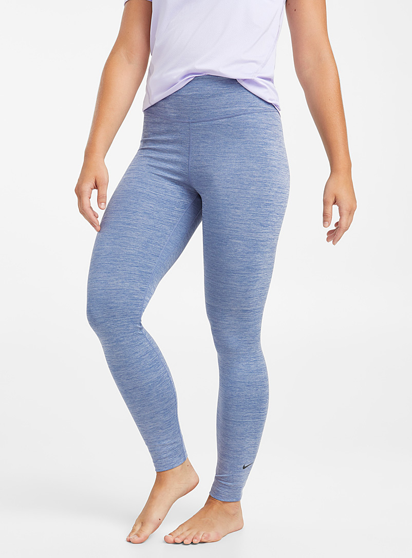 Le legging ultradoux Nike One - Leggings - Bleu moyen-ardoise