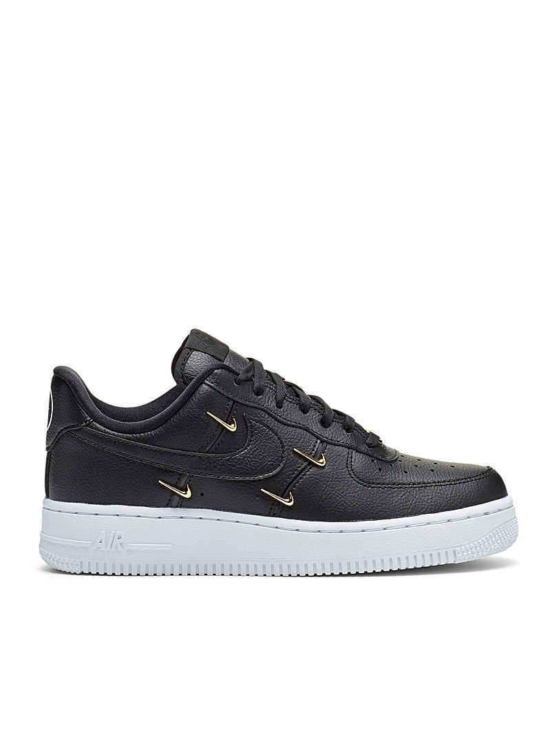 Nike Black Air Force 1 '07 LX sneakers Women for women