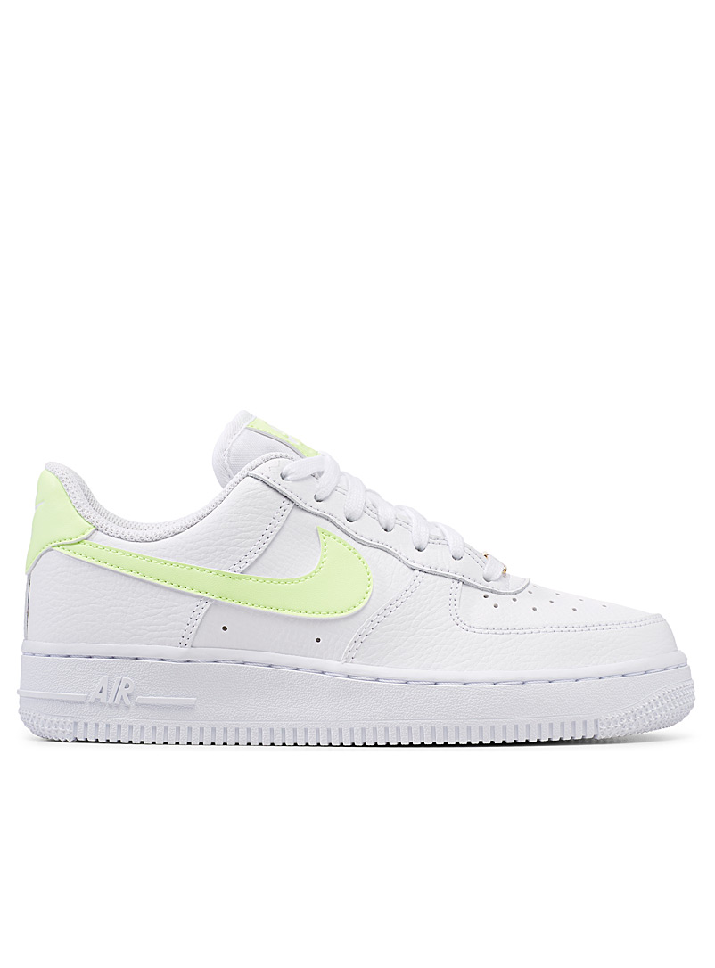 Nike Lime Green Air Force 1 '07 touch of color sneakers  Women for women