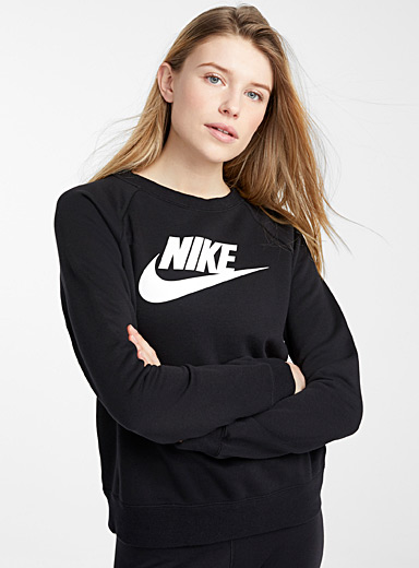 Swoosh stretch sweatshirt