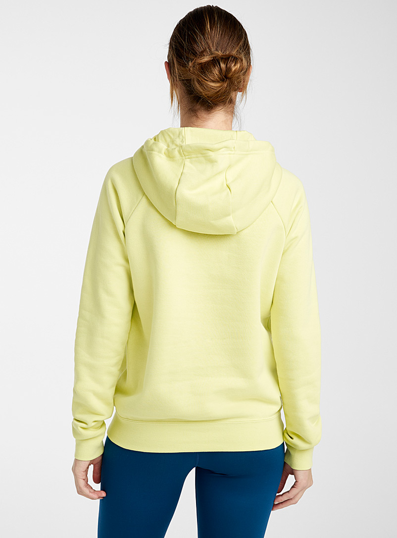 Nike Ivory White Embroidered hoodie sweatshirt for women
