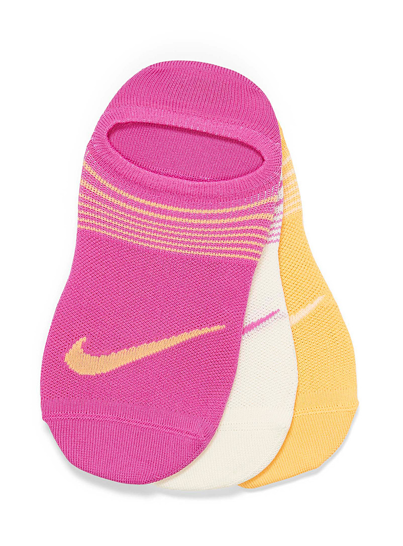Nike: Les socquettes Everyday Plus  Ensemble de 3 Assorti pour femme