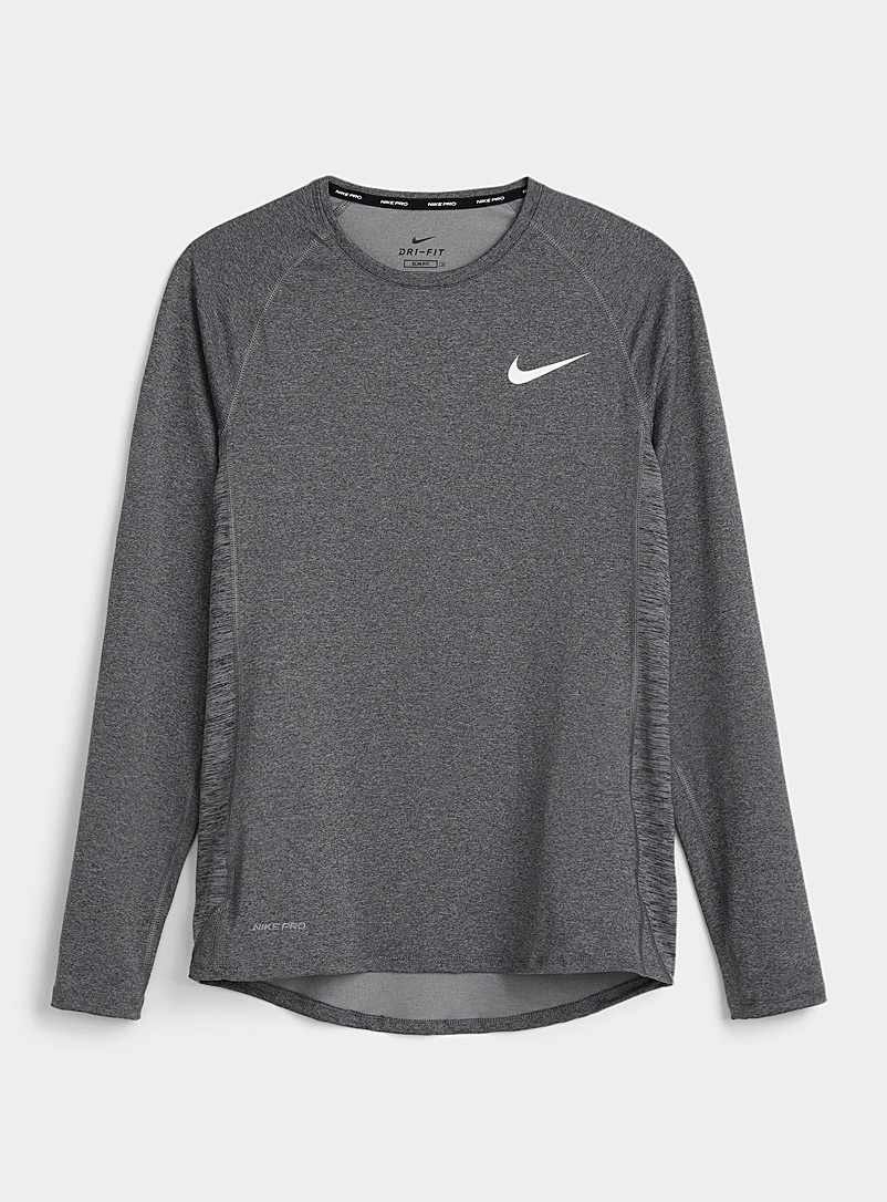 Nike Grey Soft microfibre tee for men