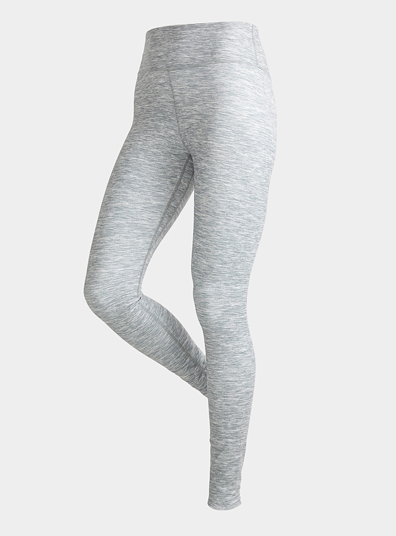 Nike Grey One Luxe high-waisted silky heather legging for women