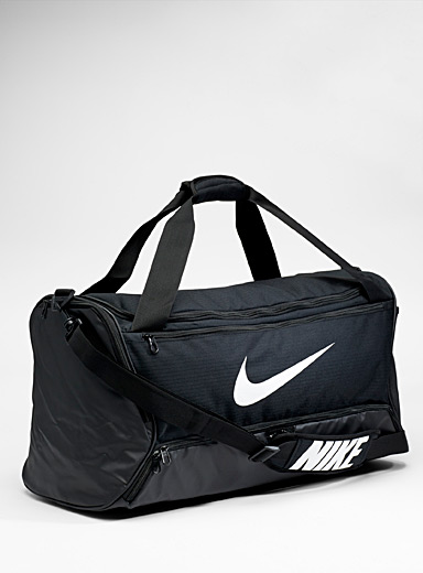 Brasilia textured duffle bag