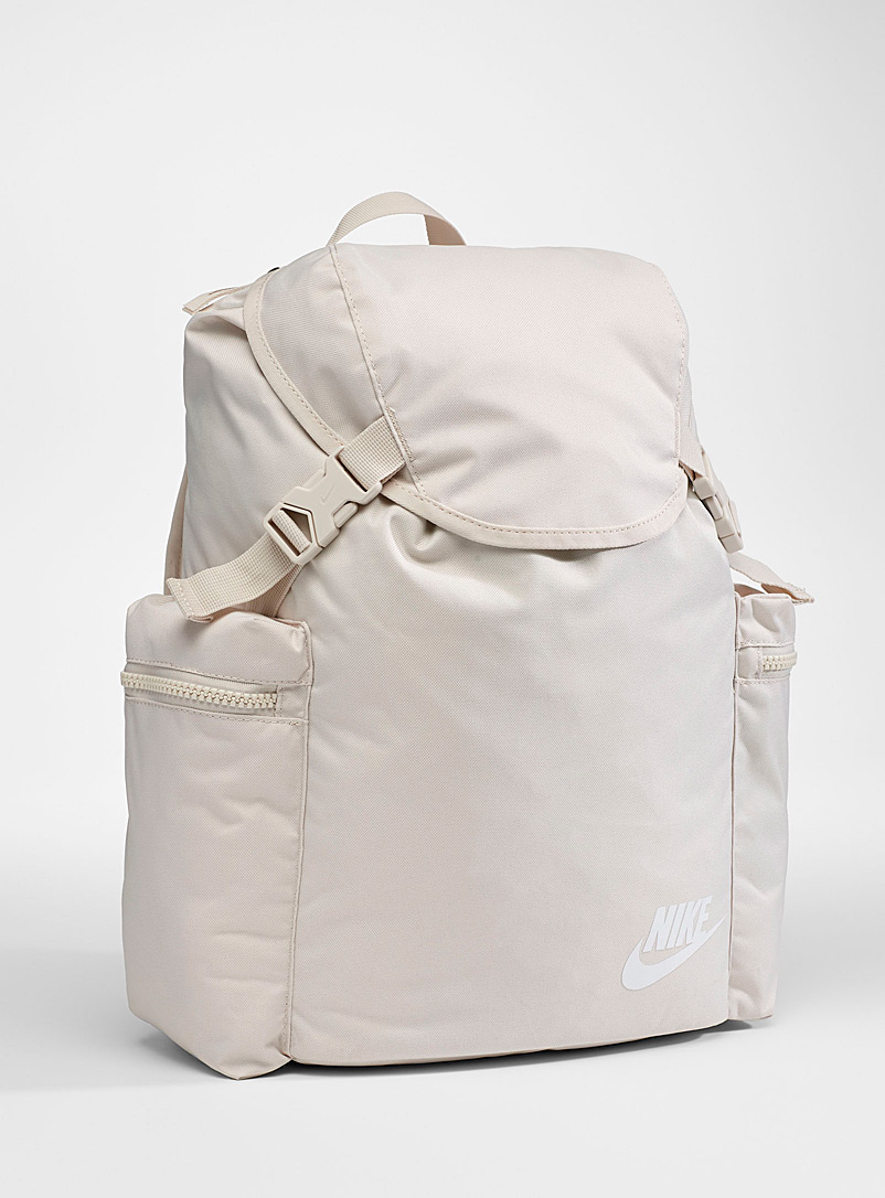Heritage mega-pocket backpack