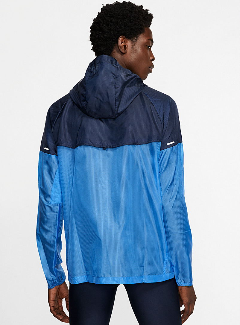 Nike Blue Windrunner lightweight windbreaker for men