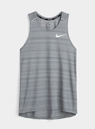 Nike Oxford Miler micro perforated back tank for men