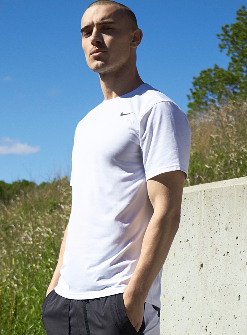 Nike White Nike Legend t-shirt for men