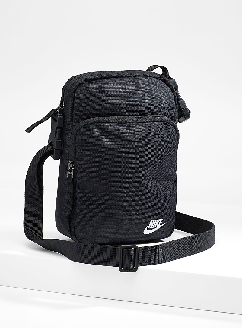 Nike Black Heritage 2.0 shoulder bag for men