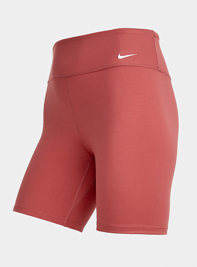 Nike Ruby Red Essential 7-inch cycling short for women