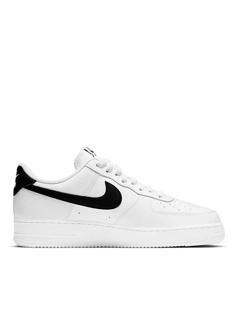 Nike White Two-tone Air Force 1 '07 sneakers Men for men