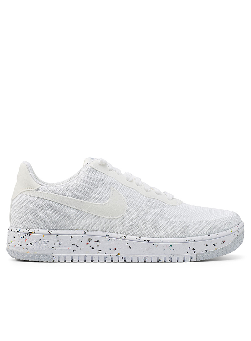 Nike Black Recycled Air Force 1 Crater Flyknit sneakers Men for men