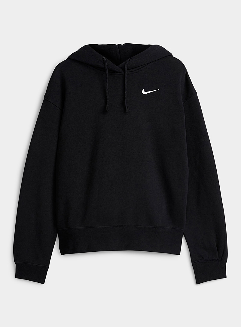 Le sweat ample logo brodé minimaliste