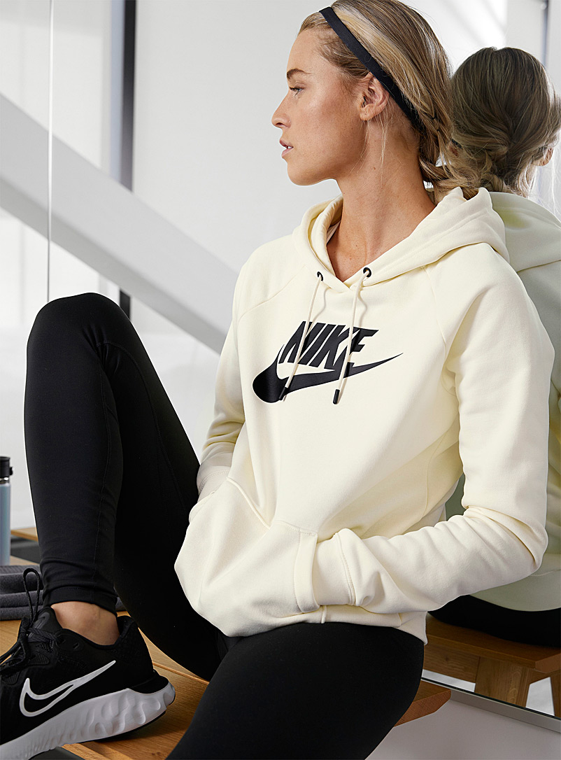 Nike Ivory White Essential hoodie for women