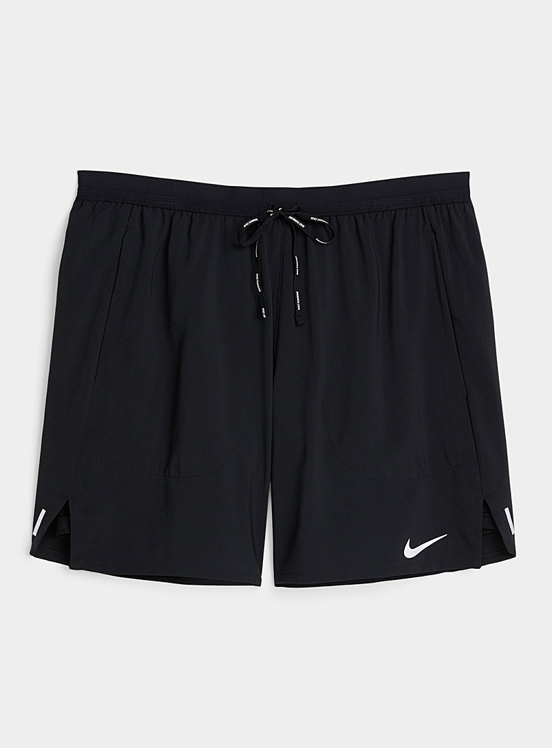 Nike Black Flex Stride ultra light short for men
