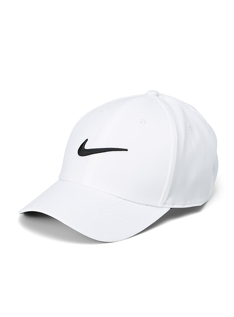 Nike White Heritage embroidery cap for men