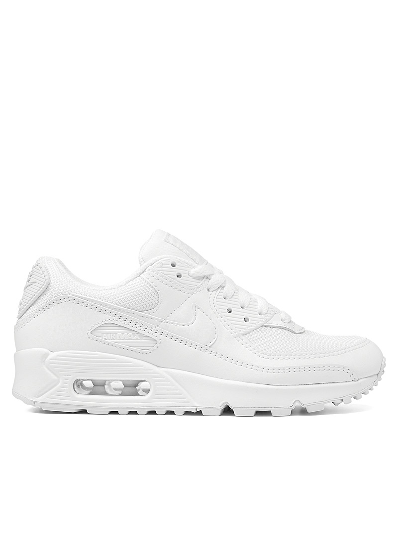 Nike White Air Max 90 white sneakers Women for women