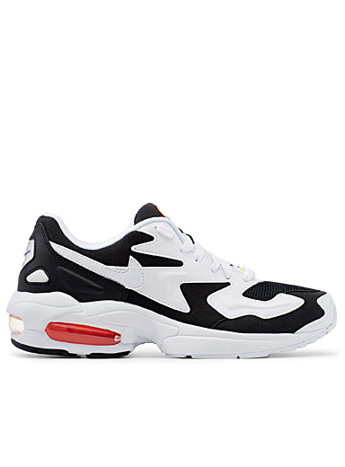 Le sneaker Air Max2 Light blanc  Femme