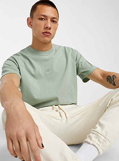 Embroidererd Swoosh colourful T-shirt