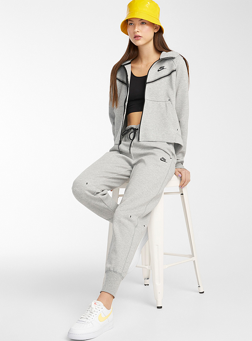 Nike Dark Grey Tech Fleece jogger pant for women