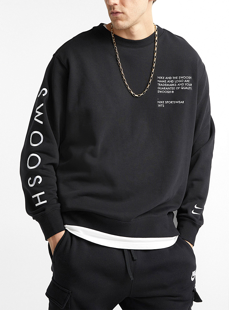 Quality label sweatshirt