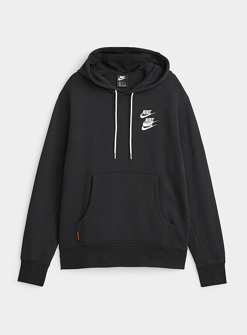 Nike Black Triple Swoosh electro hoodie for men