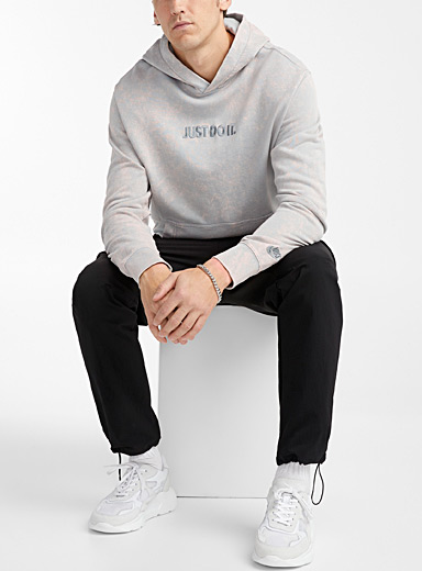 Nike Grey Just Do It cloudy hoodie for men