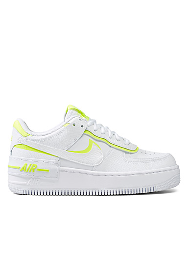 Le sneaker Air Force 1 Shadow touche néon  Femme