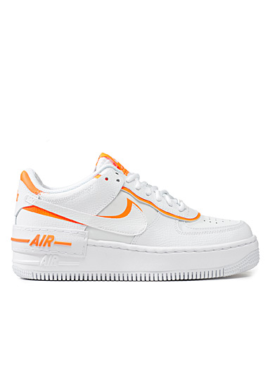 Air Force 1 Shadow neon accent sneakers  Women