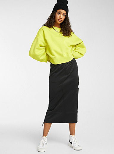 NSW logo sporty midi skirt