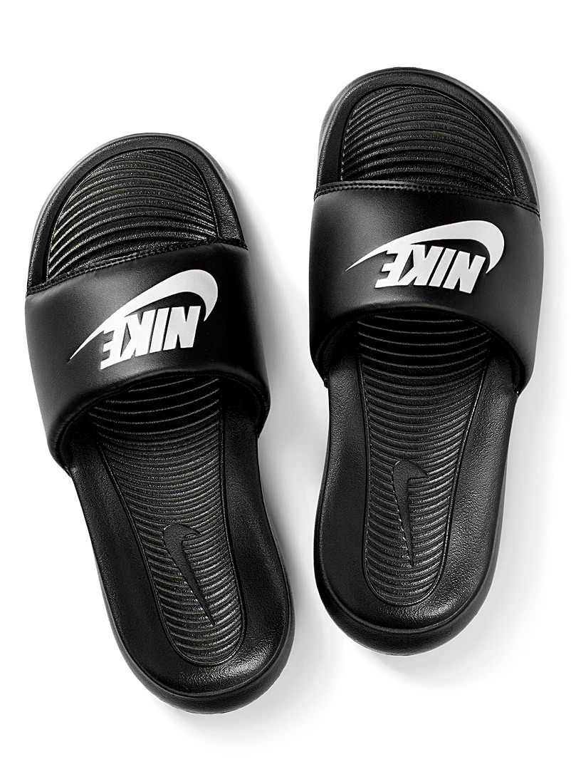 Nike Black Victori One slides  Women for women