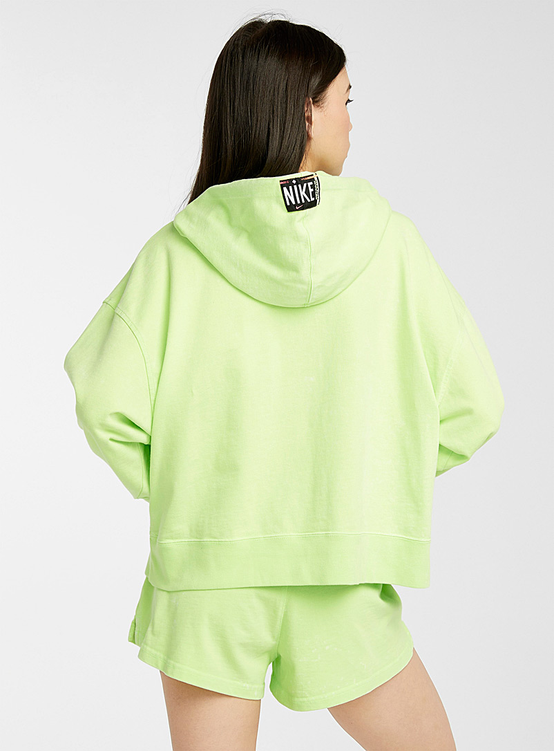 Nike Oxford Fluorescent details hoodie for women