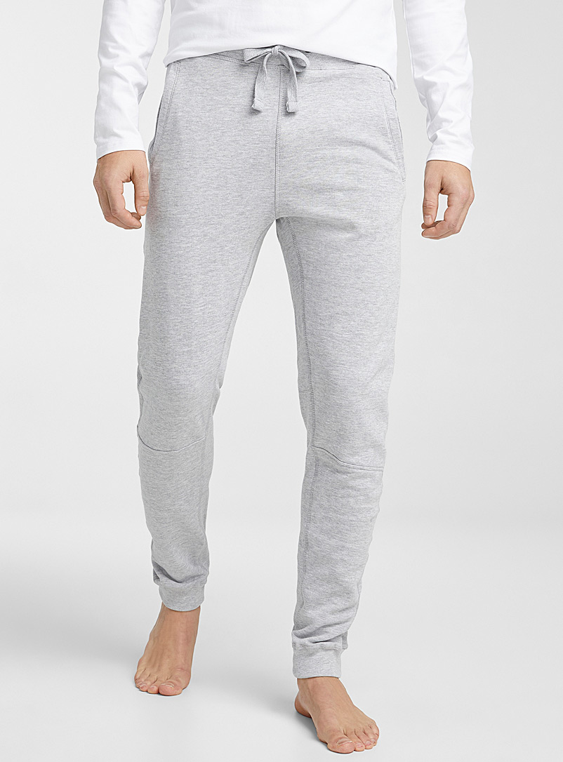 Humör Oxford Solid lounge joggers for men